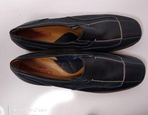 NWOT Sesto Meucci Navy Loafers SZ 8.5